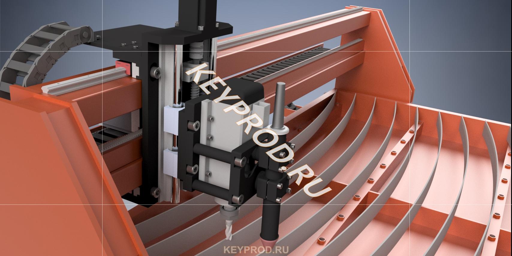 Резка чпу 3D-модель solid iges компас