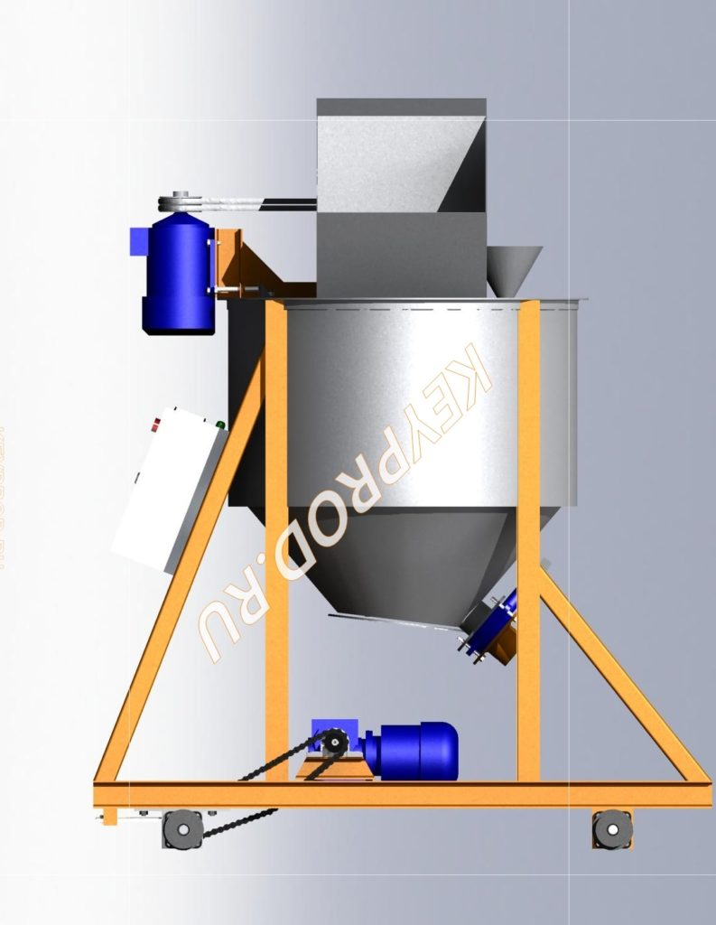 Смеситель для производства газобетона 3D-модель