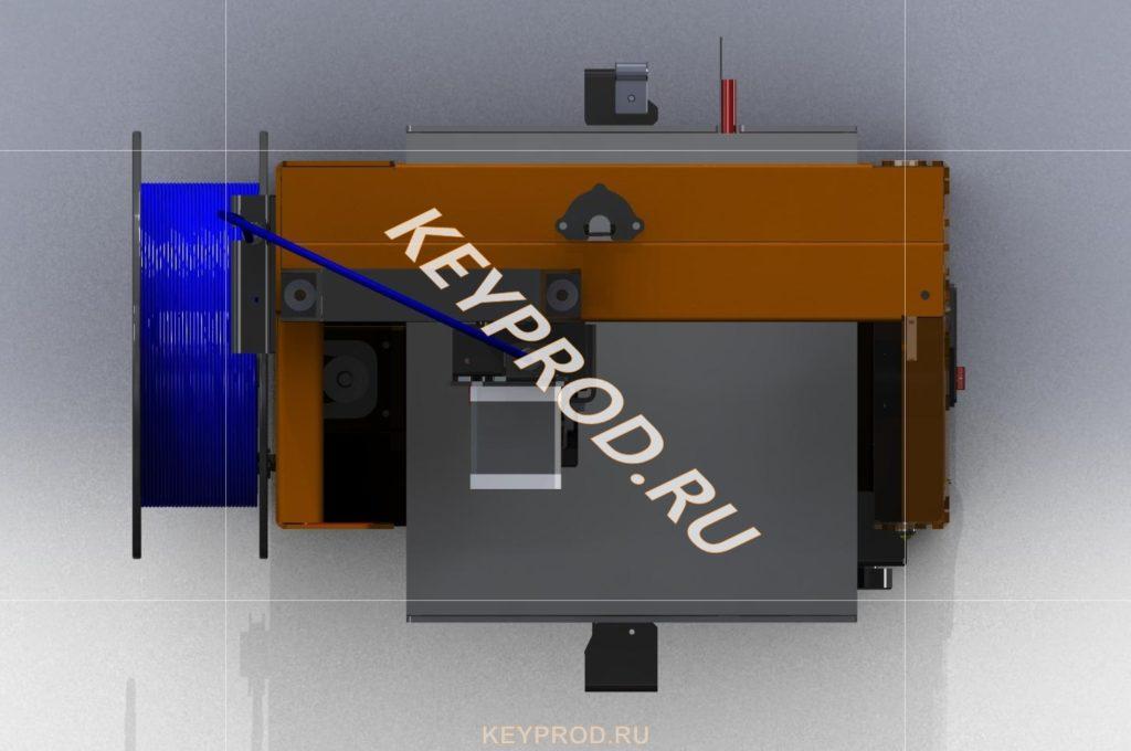 3D-принтер 3DP 01 скачать Iges