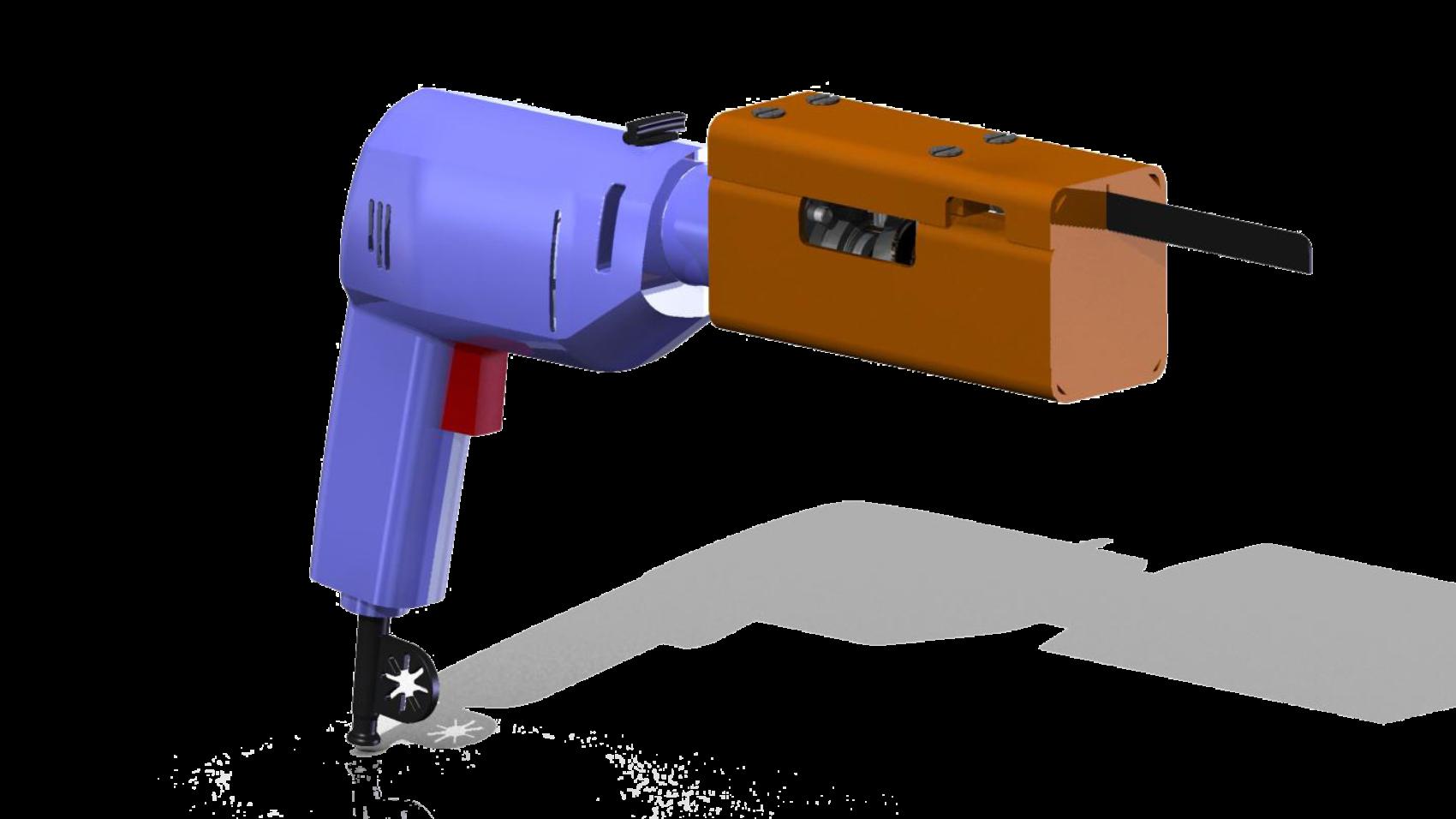 Насадка на шуруповерт чертежи 3D-модель