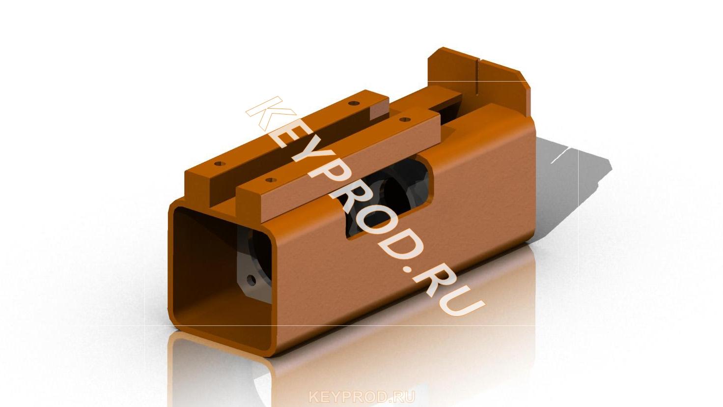 Основание электролобзика 3D-модель чертежи