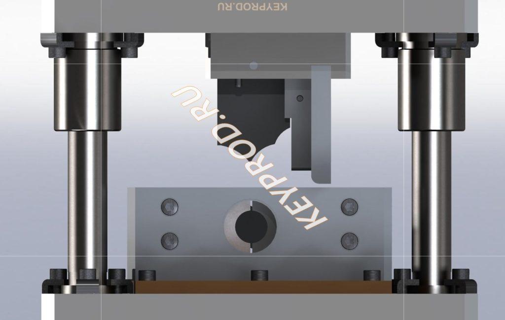 Штамп 3D-модель скачать