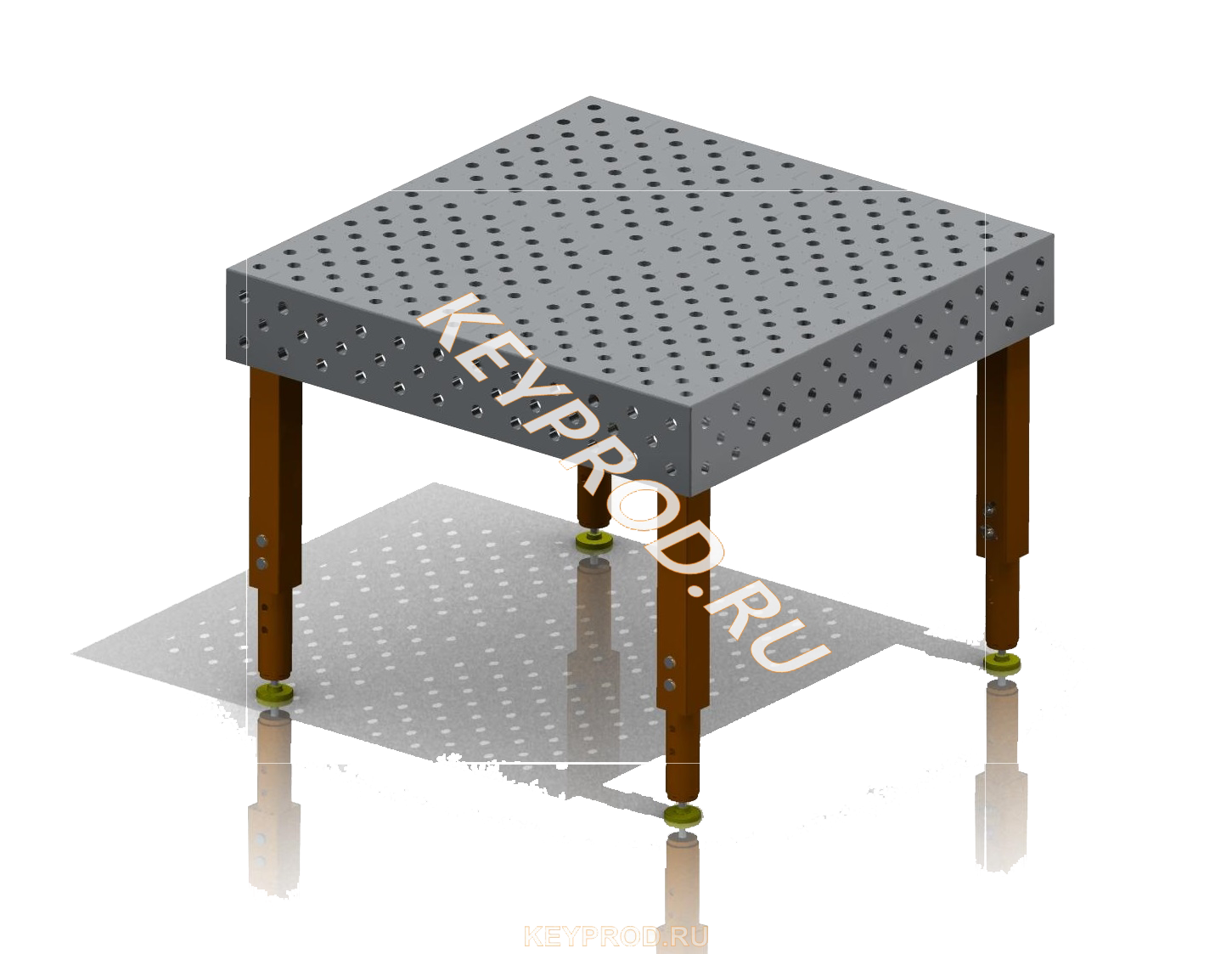 Сварочный стол система 28 3D-модель