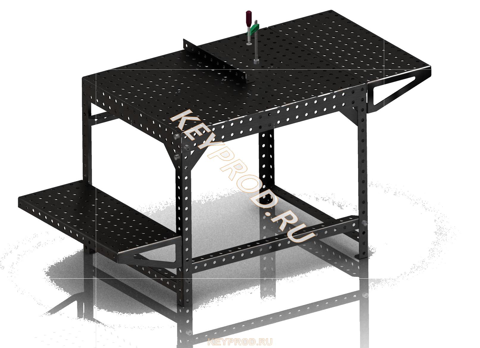 Стол сварочно-мантажный серии Master 3D-модель чертежи описание