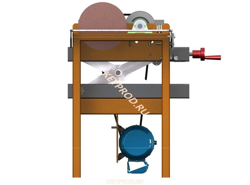 Двухбарабанный шлифовальный станок скачать чертежи
