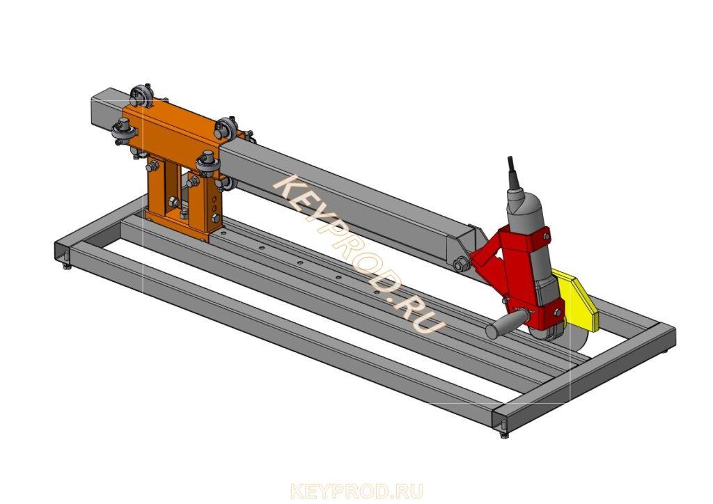 Стойка-слайдер для болгарки УШМ125 чертежи своими руками