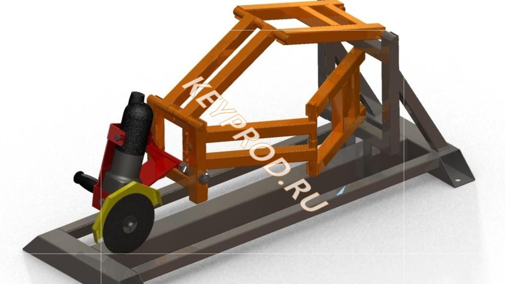 Стойка-слайдер для болгарки 3D-модель