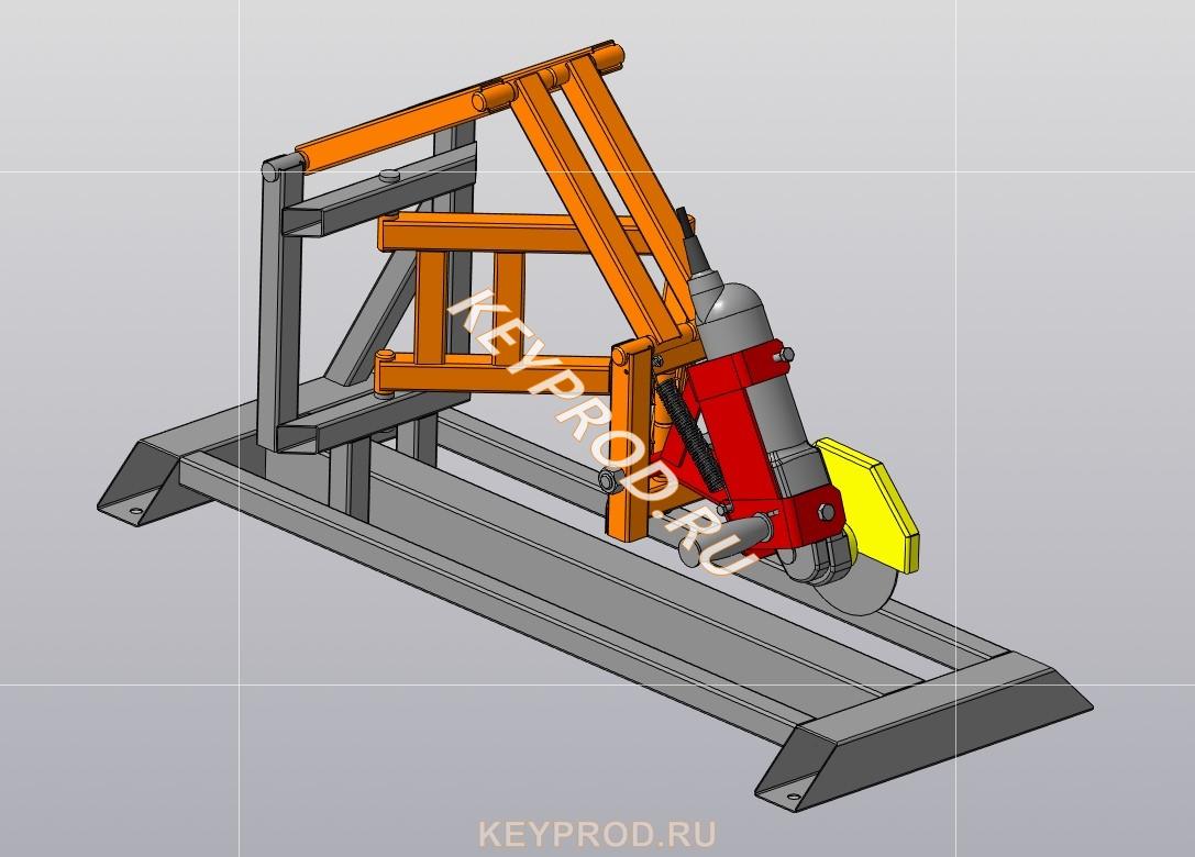 Стойка-слайдер для болгарки