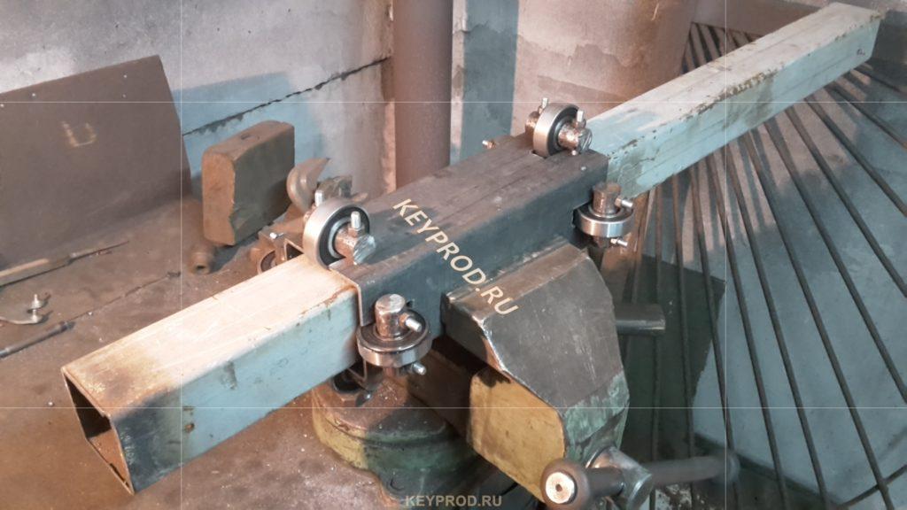 Стойка слайдер установка ползуна