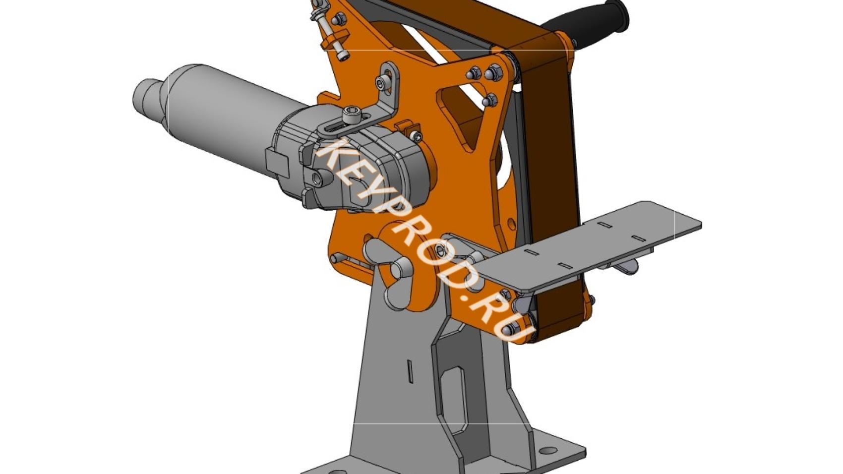 гриндер 3D-модель и чертежи