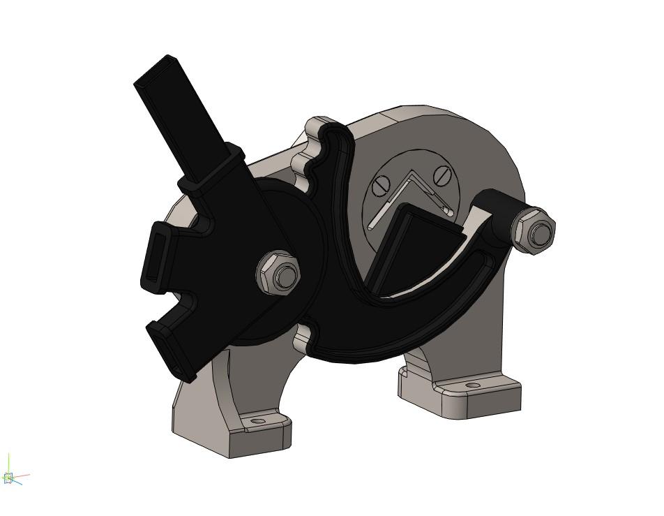 Ножницы рычажные 3D-модель