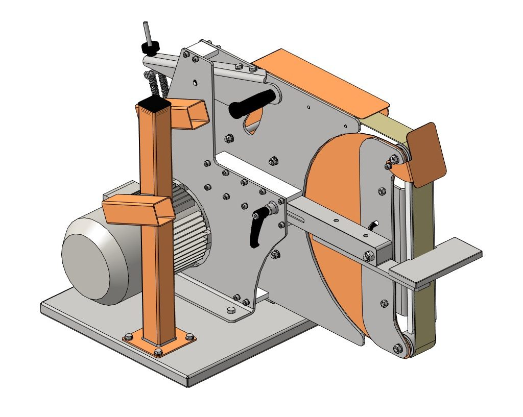 3D-модель гриндера 2000х50