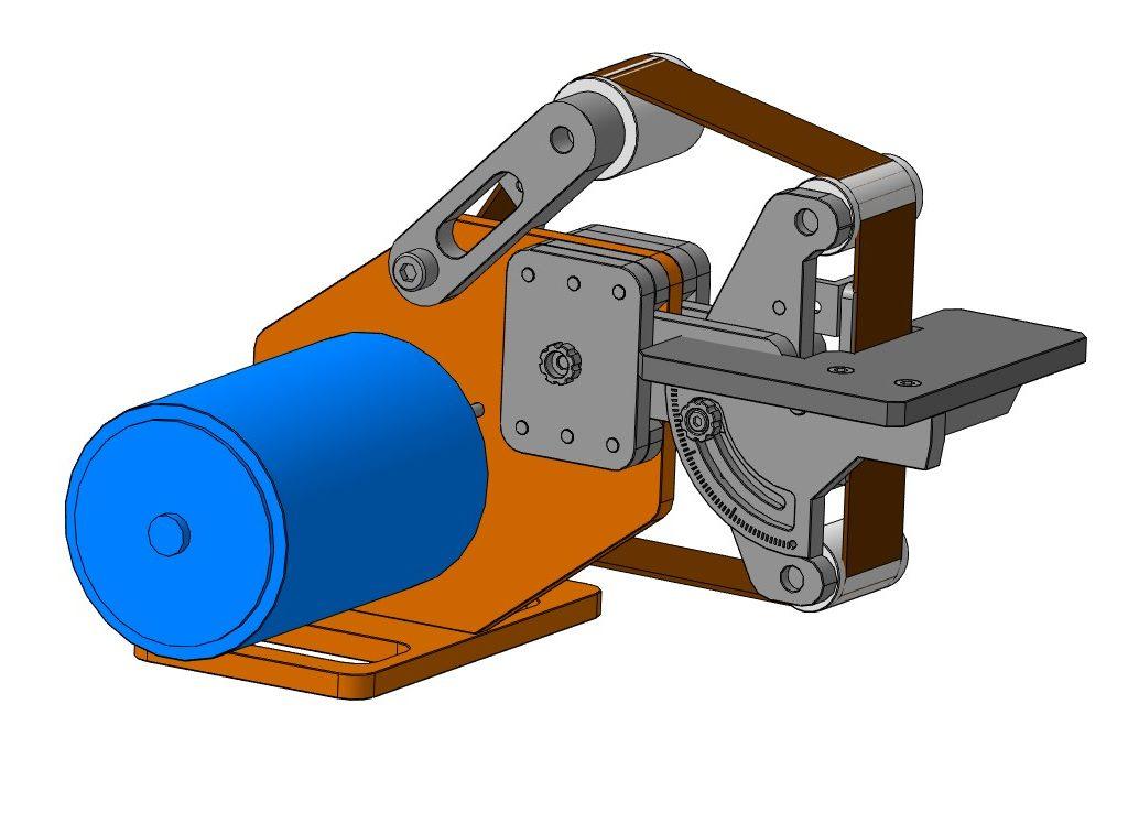 Гриндер 915х50 3D-модель 2