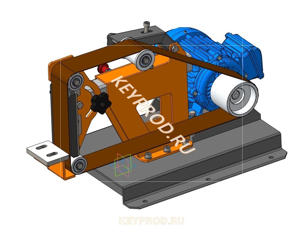 Гриндер 3D-модель своими руками