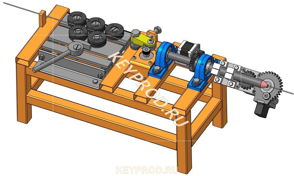 Гибочный станок для проволоки 3DAutomatic 3D Wire Bending Machine 3D
