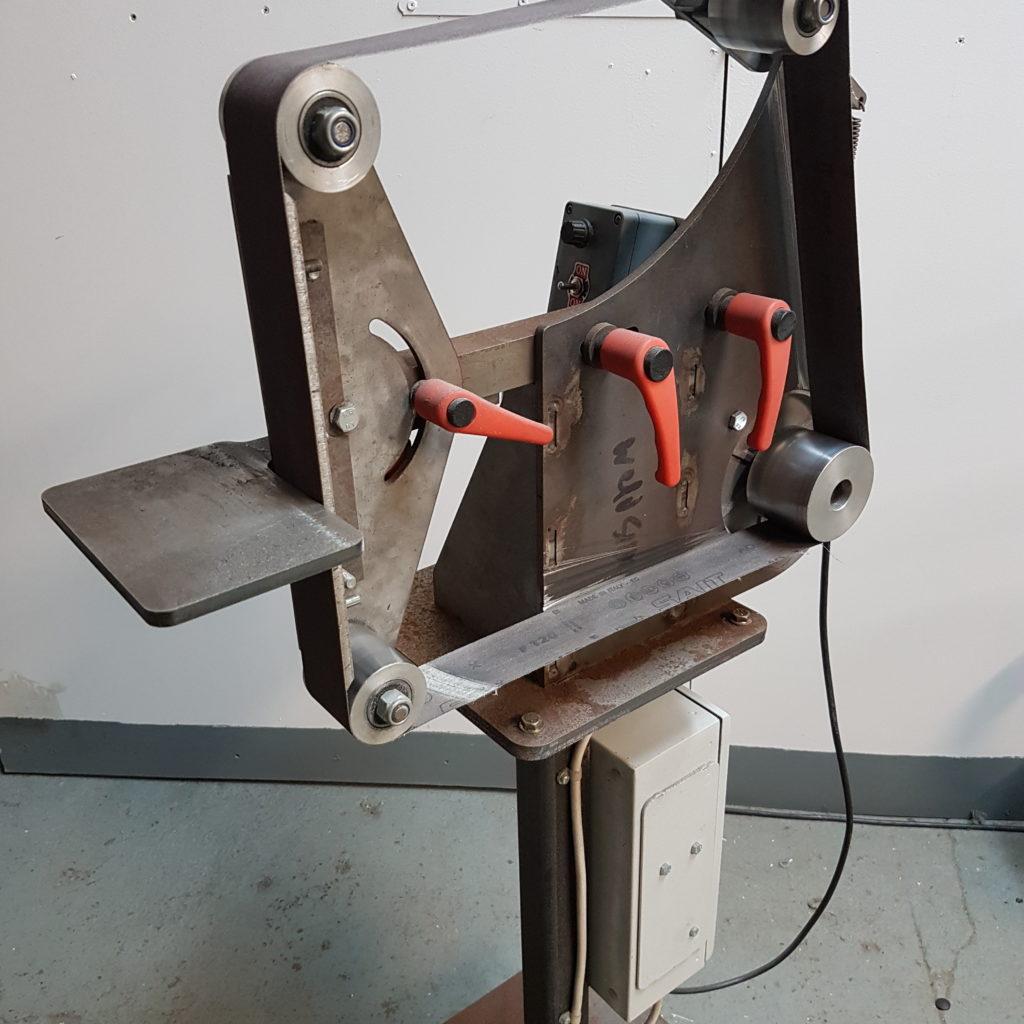 Гриндер 3D-модель Belt Grinder