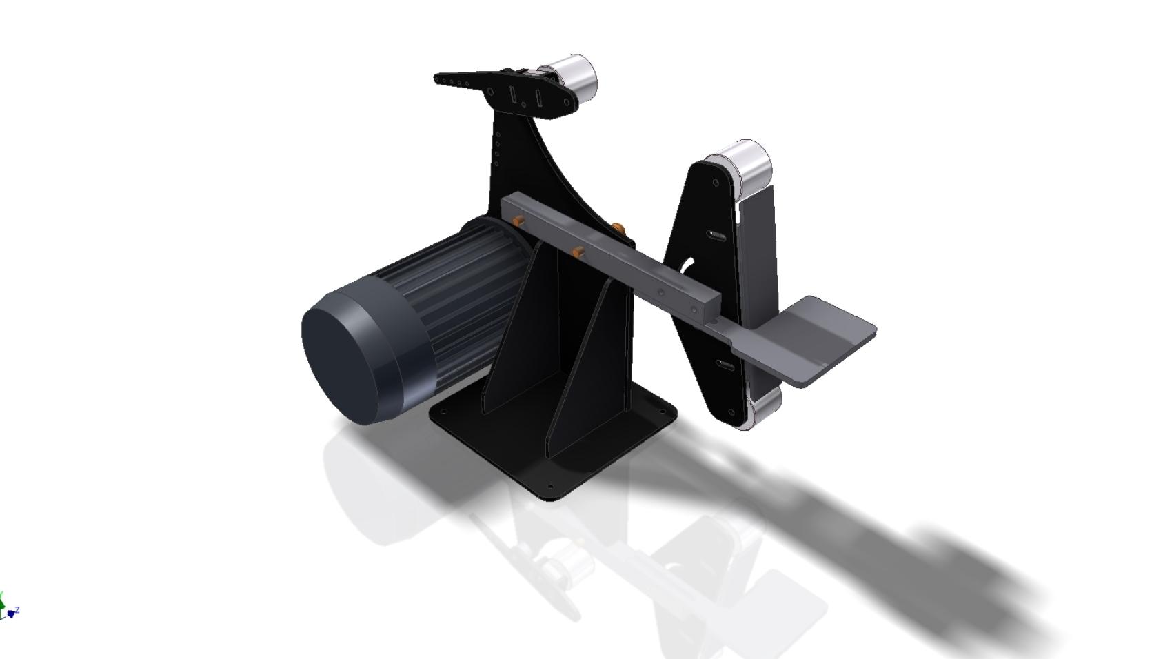 гриндер 3D-модель скачать Belt Grinder