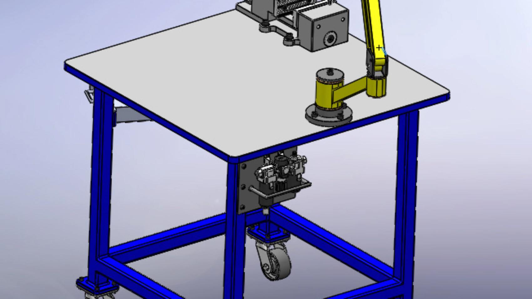 Резьбонарезные манипуляторы 3D-модель и чертежи