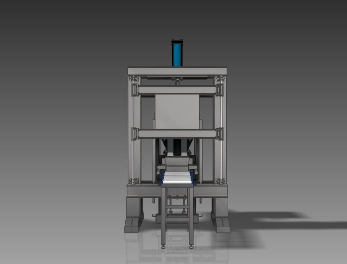 Вибропресс для производства кирпичей 3D-модель компас