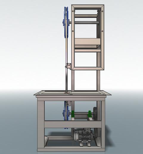 Пила ленточная 3D-модель Iges step компас 5