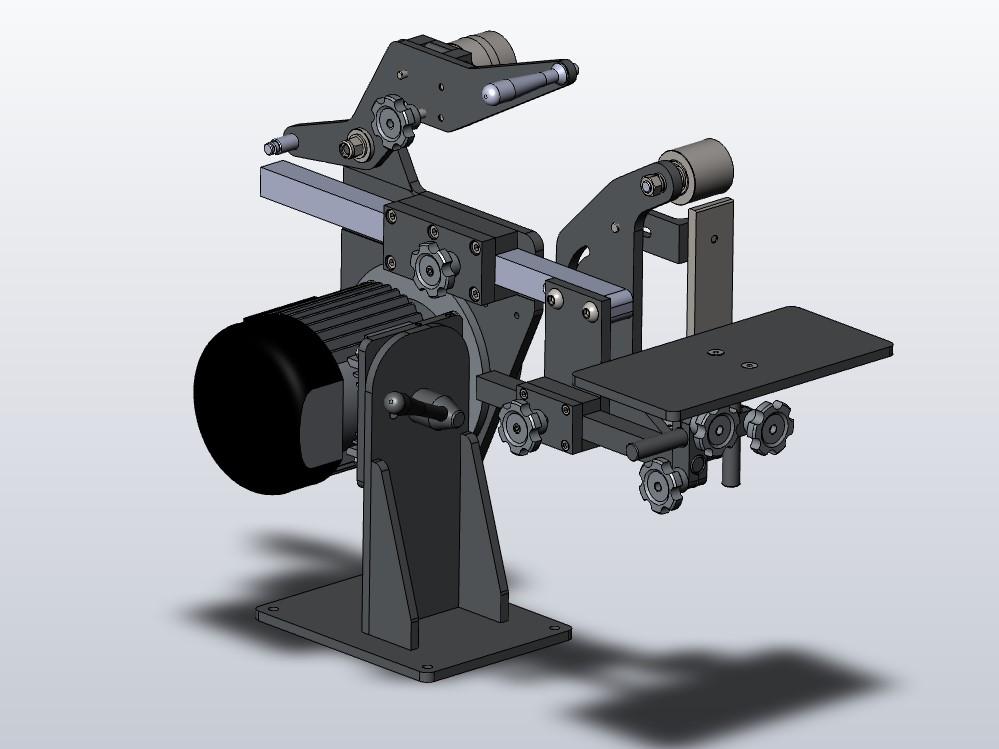 3D-модель гриндера GMS
