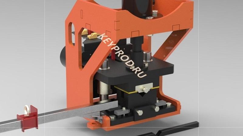Гидравлический-пресс-для-угловой-резки-профиля-чертежи-3D-модель-1