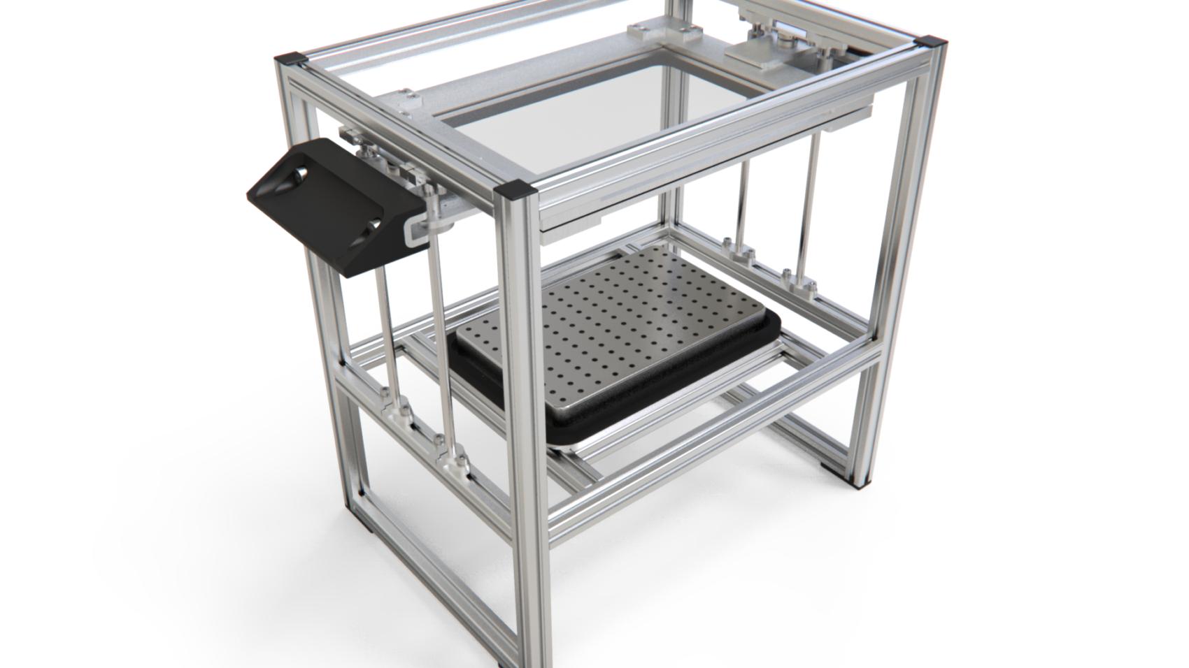 Вакуум-формовочная машина ВФМ-02 Чертежи и 3D-модели