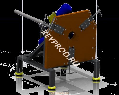 Станок для изготовления витой трубы