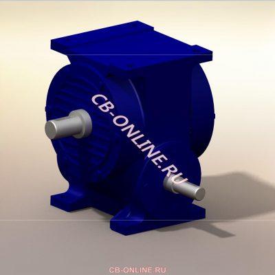 Редукторы и мотор-редукторы 3D-модели iges stp solid компас