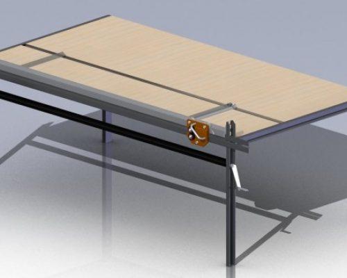 Чертежи и 3D-модели Роликовый нож со столом и прижимом