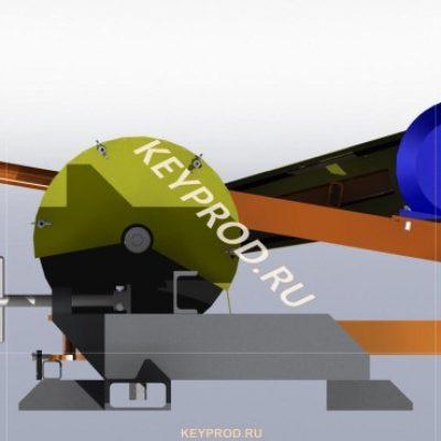 3D-модель и чертежи Абразивно-отрезной станок скачать