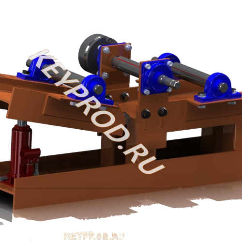 3D-модель Профелегиб с поднятием крайнего ролика