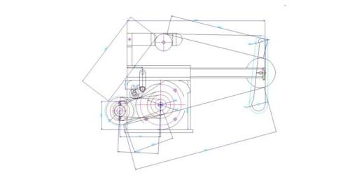 Чертежи ленточного гриндера Г11  Формат  DWG