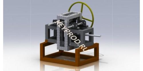 3D-модель Трубогиба гидравлического ручного  ТГР 03