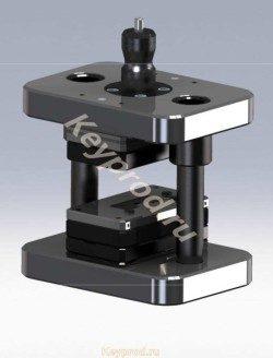 3D-модель  Штампа  вырубного  ШВ 02
