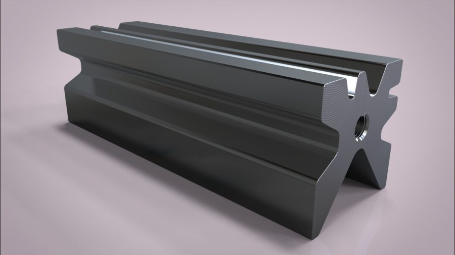 Матрица гибочная многоручьевая 3D-модель