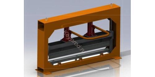 Ручной гидравлический листогиб ЛРГ 01 3D-модель