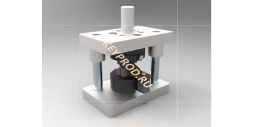 Штамп для обжатия наконечника. 3D-модель и чертежи