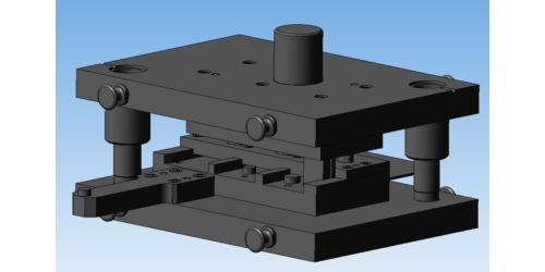 3D-модель штампа для пробивки отверстий