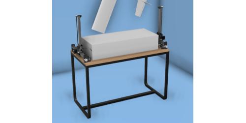 3D-модель станка ЧПУ для резки пенопласта
