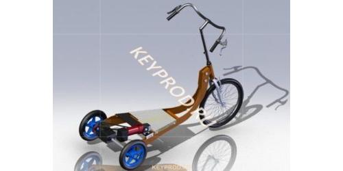 3D-модель  электросамоката