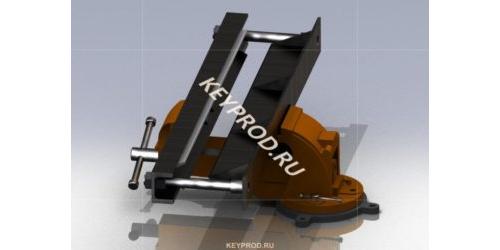 3D- модель листогиба из тисков