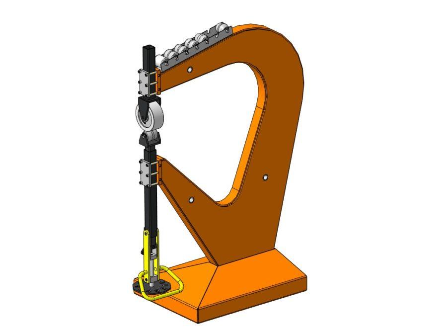 """Станок """"Английское колесо"""" 3D-модель"""