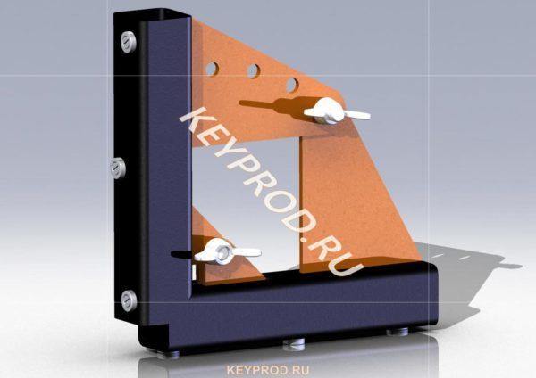 3D-модель магнитного угольника  №1