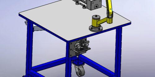 Резьбонарезной манипулятор РМ-02 3D-модель
