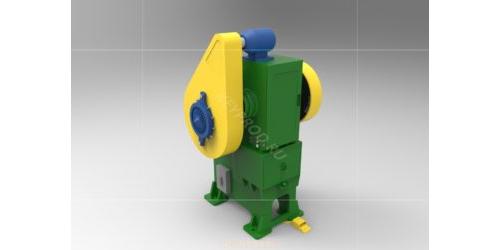 Пресс механический 80 тонн. 3D-модель
