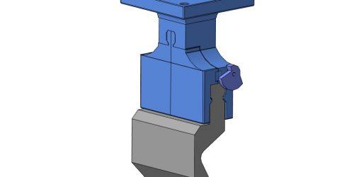 Быстрозажимной пуансонодержатель для гибочного инструмента 3D-модель