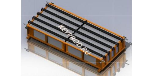 Шаблон для резки массива газобетона 3D-модель (ознакомительная)