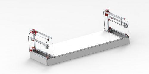 Станок для резки пенопласта (Термоплоттер) СРП-03. 3D-модели и чертежи