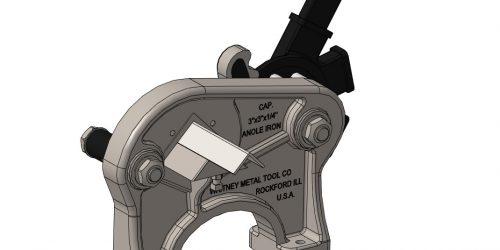 Скачать 3D-модель рычажных ножниц